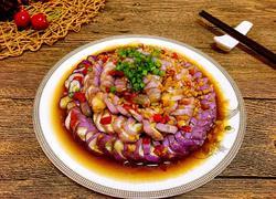 蒜蓉剁椒盘龙茄子