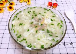 蛤蜊蛋花汤