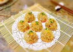 香菇糯米丸子