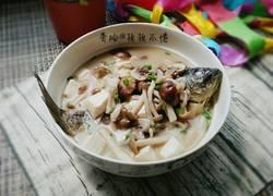 鲜菇鲫鱼汤