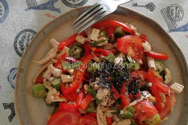 减肥鸡肉沙拉