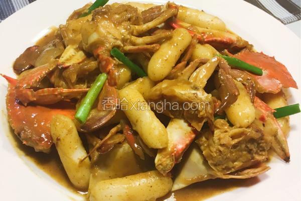 泰式咖喱皇炒蟹