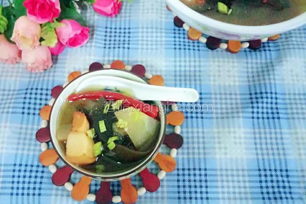 海带冬瓜猪肉汤