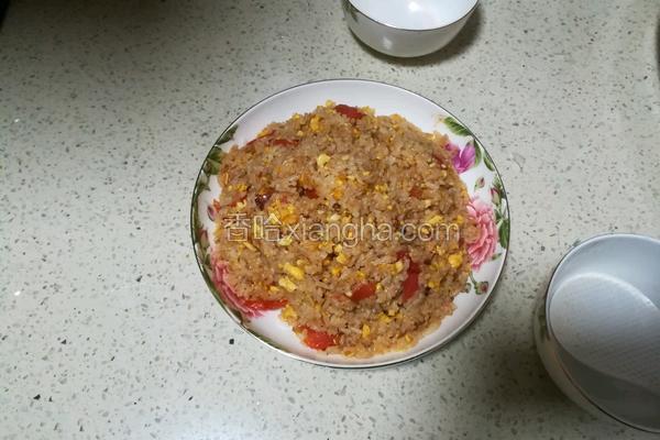 番茄炒蛋饭