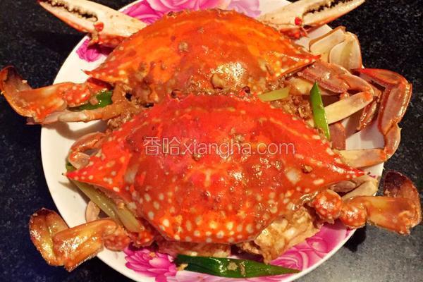 家常味炒螃蟹