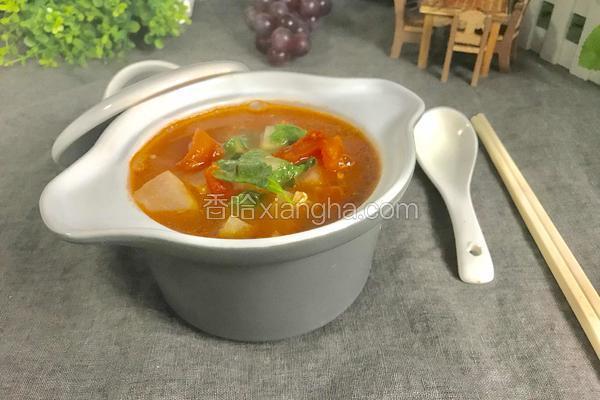 西红柿冬瓜汤