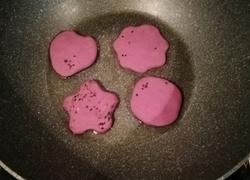梅花紫薯饼