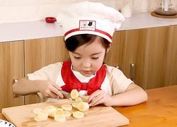 《香蕉马芬》五岁宝宝下厨房
