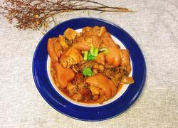 笋干黄花菜炖猪蹄