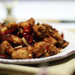 辣子豆瓣鸡