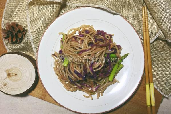米线花样吃—黑椒炒米线