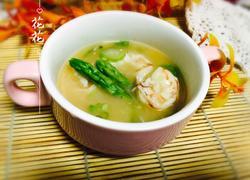 咸蛋黄鲜虾汤