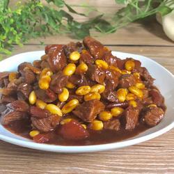 番茄红酒牛肉粒