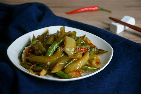 四季豆炒酸菜