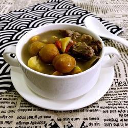 板栗排骨汤