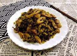 咸菜炒猪大肠