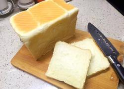 普通面粉版北海道吐司(包括10分钟剪出手套膜)