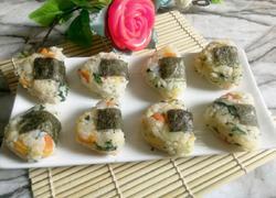 三角蔬菜土豆饭团