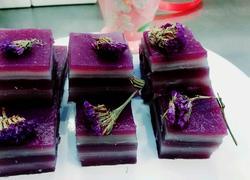 紫薯椰汁糕