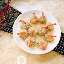 鲜虾珍珠丸子