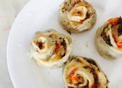饺子皮花卷
