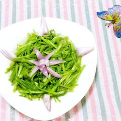 素炒水芹菜