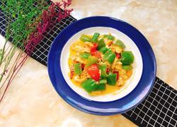 青椒番茄炒鸡蛋