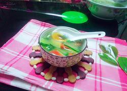 黄瓜胡萝卜皮蛋汤