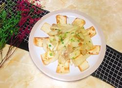 豆腐山药炒咸肉