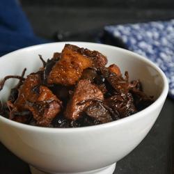 菜干煲猪肉