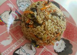 香哈香菇酱炒饭