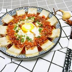 蛋蒸老豆腐