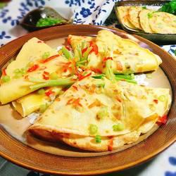 蔬菜鸡蛋煎饼