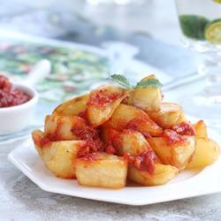 辣味炸马铃薯