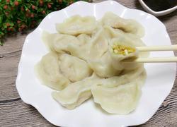 莲藕鸡蛋素饺子