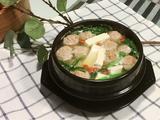 油麦菜肉丸豆腐汤的做法[图]