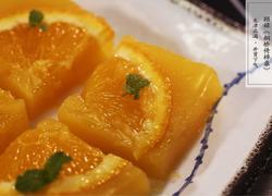 三分钟做出美味甜品——蜜橙糕