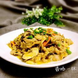 口蘑炒瘦肉的做法[图]