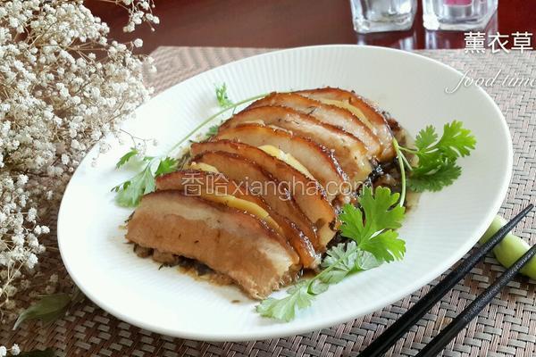 雪菜土豆蒸肉