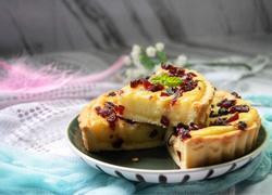 蔓越莓椰浆乳酪派