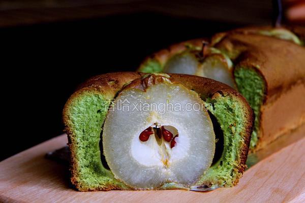 梨不开你磅蛋糕
