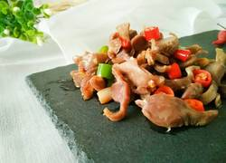 小米椒爆鸡胗