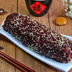 黑米粢饭团