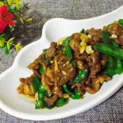 蒜香牛肉荷兰豆