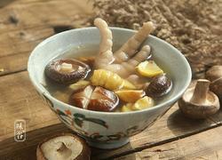 香菇栗子鸡爪汤