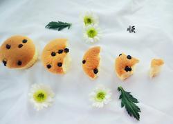 椰蓉蓝莓分蛋海绵小蛋糕