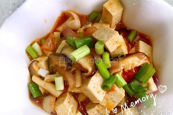 香菇烩豆腐