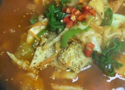 海鲜鱼饼汤