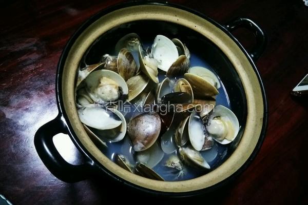 胡椒蛤蜊煲