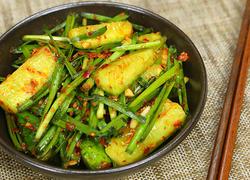 黄瓜韭菜泡菜
